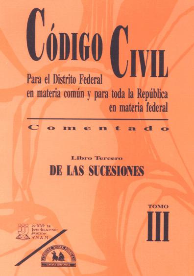 C U00f3digo Civil Para El Distrito Federal En Materia Com U00fan Y
